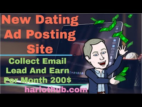 New Harlothub Dating Ad Posting Site 2019 | Collect Email Lead And Earn Per Month 200$