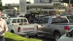 Nigeria fuel shortage  Massive queues at Lagos petrol stations