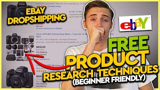 Ebay Dropshipping FREE Secret Product Research Techniques (BEGINNER FRIENDLY)
