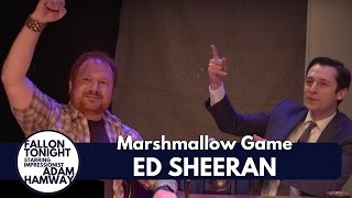 Fallon Tonight - Ed Sheeran Interview & Marshmallow Game