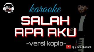 Download salah apa aku - karaoke lirik (entah apa yang merasukimu) via vallen