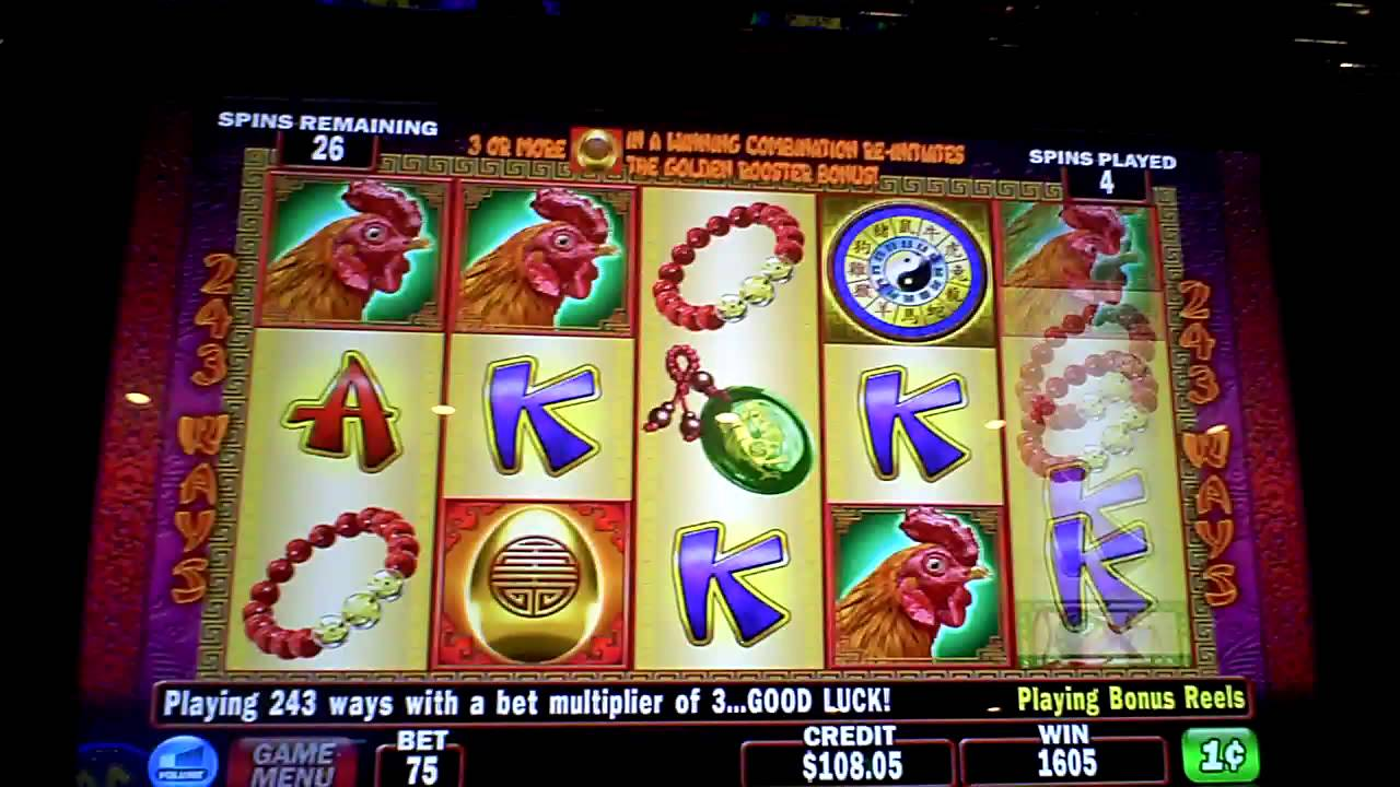 Rooster Slot Machine