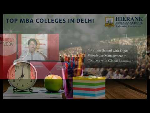 Hirank Business School - Top Ranked MBA Management Colleges In Delhi NCR