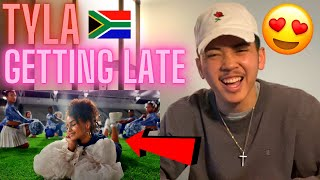 Tyla - Getting Late (Official Video) ft. Kooldrink AMERICAN REACTION! South African Music