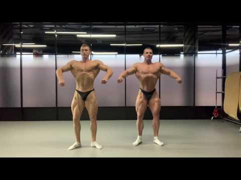 Отрывок тренировки Posing. Роман Халиулин и Андрей Кожокарь
