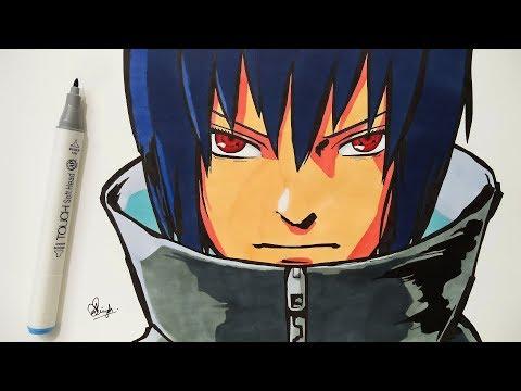 drawing-sasuke---naruto-shippuden