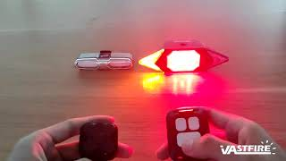 Bike Tail Light with Turn Signals