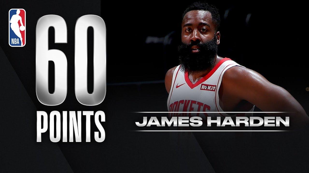 James Harden scores 60 points in three quarters as Houston ...