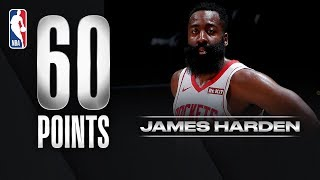 Harden Goes OFF for 29 of his 60 PTS in the 3rd Quarter!