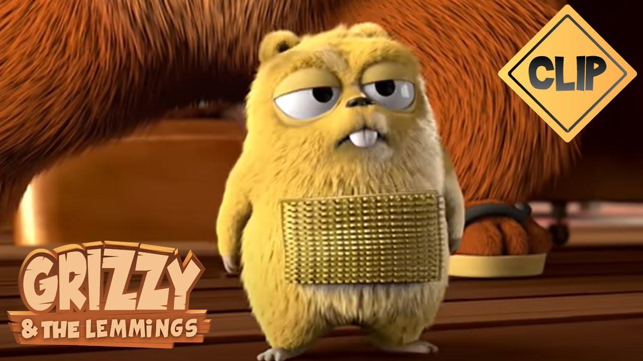 Download Grizzy devient une cible vivante pour les Lemmings - Grizzy & les Lemmings
