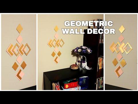 DIY GEOMETRIC WALL DECOR