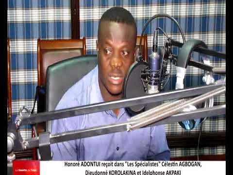 Honoré ADONTUI reçoit comme invités du débat dans « Les Spécialistes » ses confrères journalistes