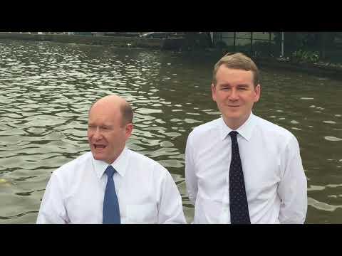 Senators Coons, Bennet discuss marine debris in Nigeria August 2017