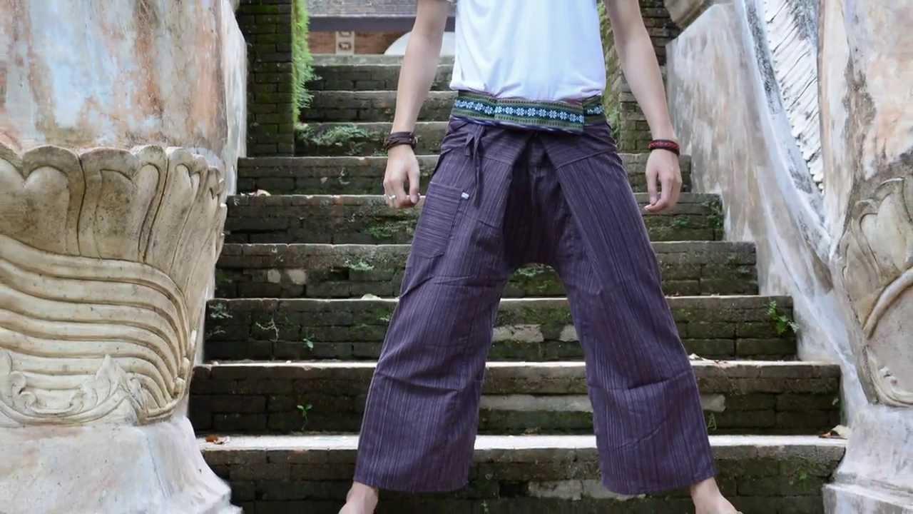 Fisherman thai pants how to wear 2019