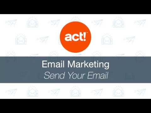 act!-emarketing:-send-your-email