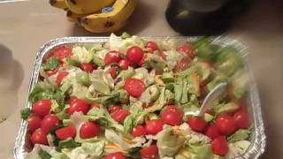 60 SECONDS TO RAW FOOD - ICEBERG SALAD RECIPE