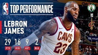 LeBron James FULL Game Highlights | 29 Points, 16 Rebounds, 9 Assists