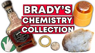 Brady shows us some chemistry-related objects in his office, from a bottle of whiskey to an old periodic table. more links below ↓↓↓featuring haran.che...