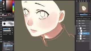 [Medibang Paint Pro desktop version how to] Paint Skin