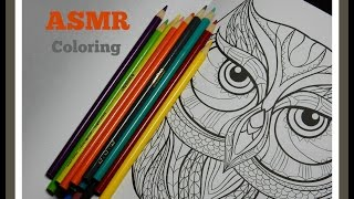 ASMR | Whispered Coloring with Pencil Sounds