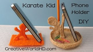 How to:Karate Kid Phone Holder/Back to School - 3D Printing Pen Creations/Scribbler DIY Tutorial(, 2015-08-30T21:51:05.000Z)