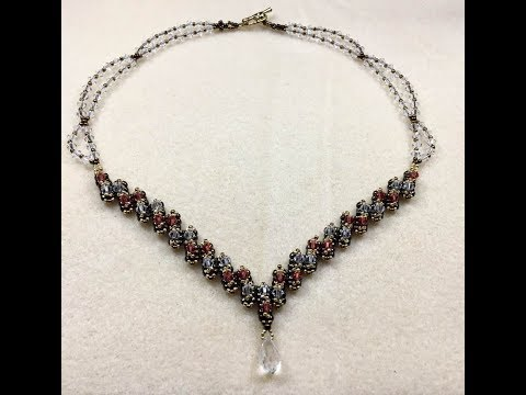 Victorian Beautty Necklace Tutorial