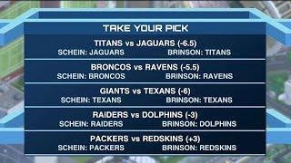 Time to Schein: Will Brinson talks Week 3 NFL picks 09/21