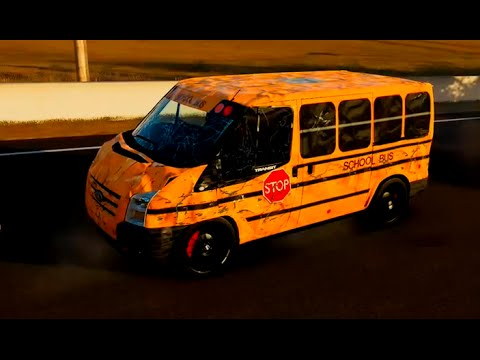 Forza 5: School Bus Shenanigans (Ford Transit Van
