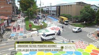 Urbanismo táctico: pequeñas acciones con las que buscan transformar a Rionegro