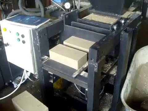 автомат Пресс для кирпича своими руками