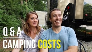 How Much Do Campgrounds Cost for RV Living?