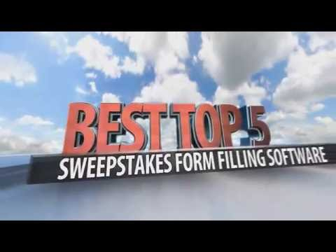 Best Top 5 Sweepstakes Form Filling Software Applications