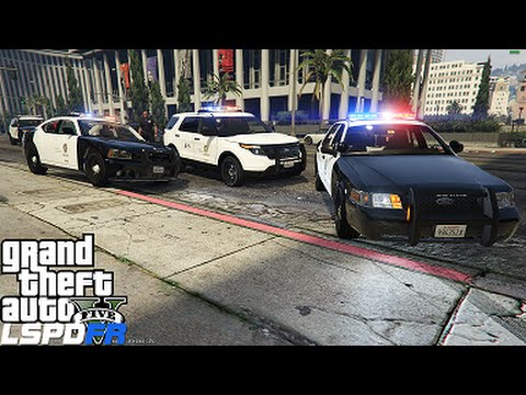GTA 5 LSPDFR Police Mod 86 | First Look At LSPDFR 0.3 With Callouts | Homicide In The Train Station
