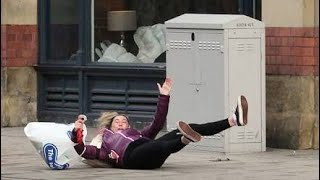 Funny video of women falling in the Water Try not to Laugh 😂😂