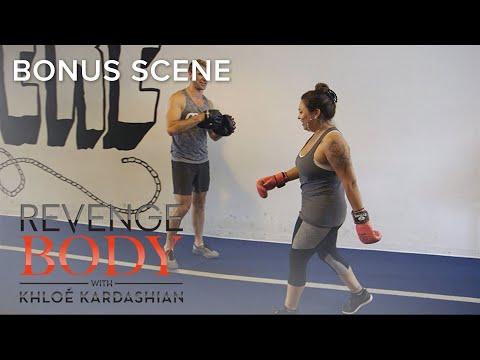 Gabriela Is Totally Smitten Over Trainer Luke Milton   Revenge Body with Khloé Kardashian   E!