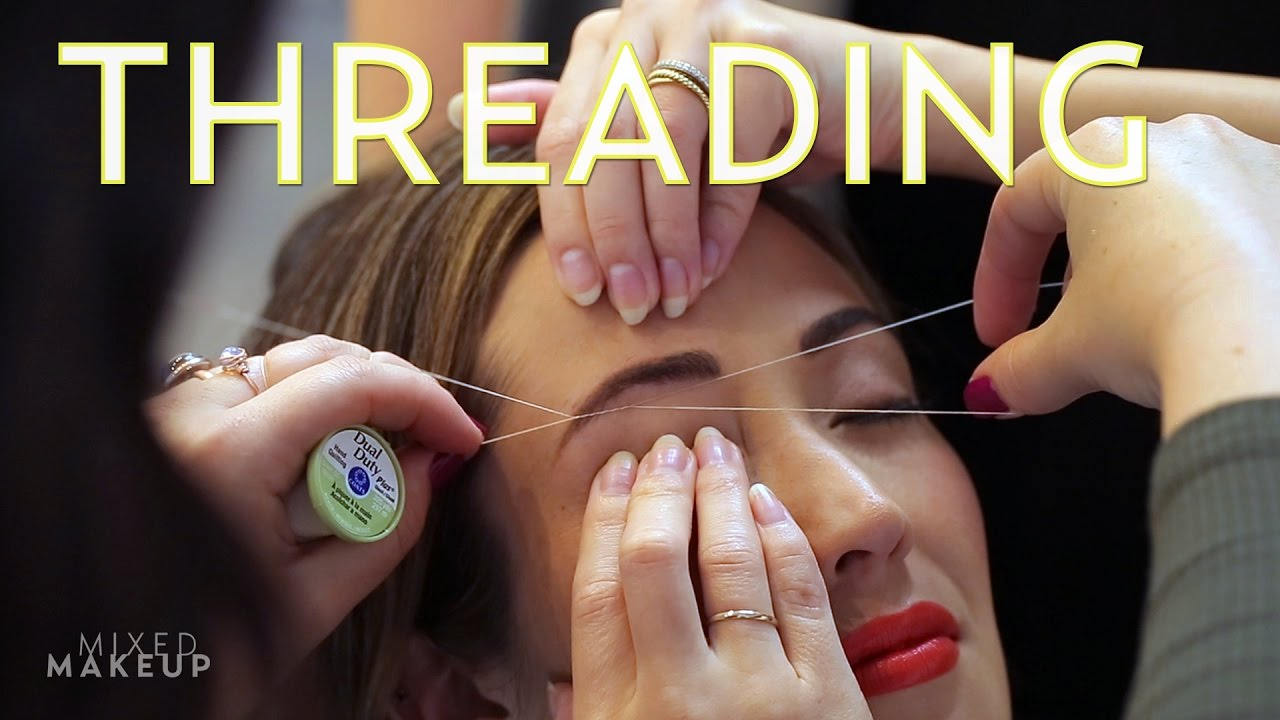 Threading: We Tried it at Thread in Los Angeles | The SASS with Susan and  Sharzad
