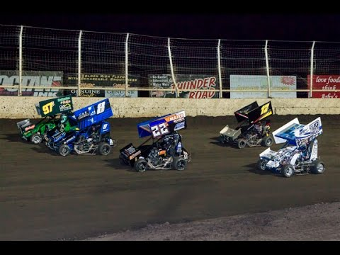 Huset's Speedway - Micro Sprint A-Main - September 13, 2015