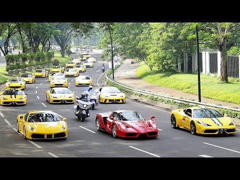 Ferrari Festival of Speed - A Celebration of Ferrari 70th Anniversary in Indonesia