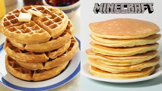 Pancakes or Waffles? (Minecraft Skybounds)