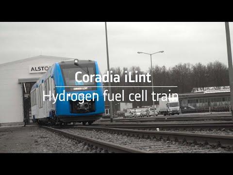 Coradia iLint – the world's 1st hydrogen powered train