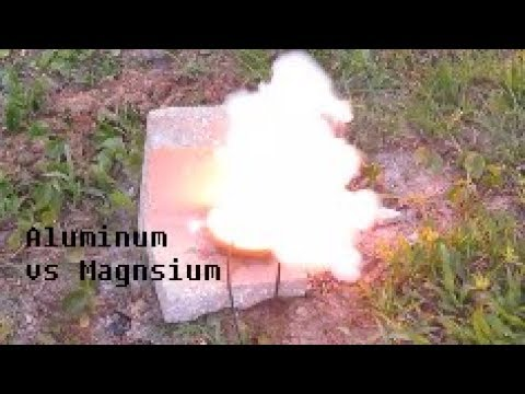 Reaction Of Aluminum Vs Magnesium With Sodium Nitrate