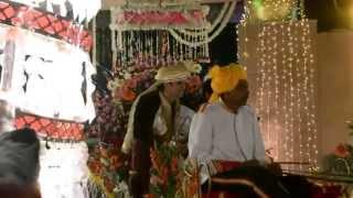 Индийская свадьба (жених в колеснице)