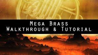 Mega Brass - Epic Hybrid Instrument for Kontakt (Walkthrough)