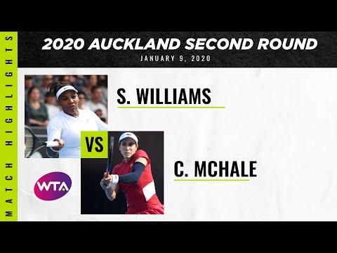 Serena Williams vs. Christina McHale | 2020 Auckland Second Round | WTA Highlights