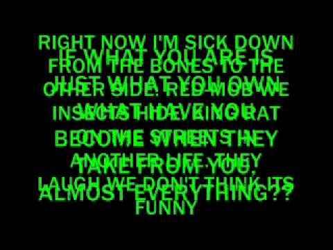 DESTROYA lyrics My Chemical Romance