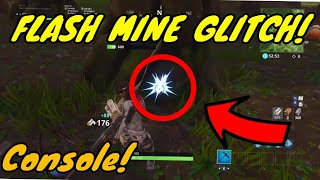*HOW TO* SPEED MINE GLITCH For Console! in Fortnite Battle Royale! v4.5 fast mining glitch!
