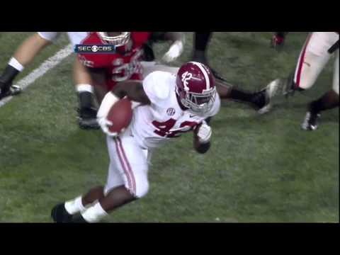 Alabama vs Georgia Highlights from the SEC Championship game in Atlanta, GA 2012