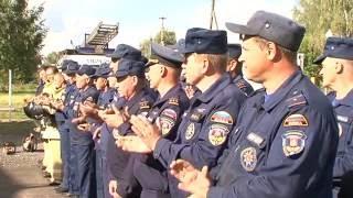 Пожарное депо открылось в д. Ильинский Погост