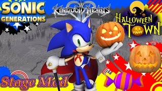 Sonic Generations: Mage Sonic in Halloween Town