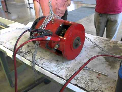 Testing Series Wound Electric Motor Youtube